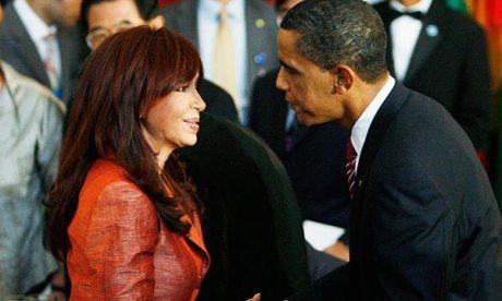 cristina y obama 2009